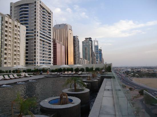 Pool picture of millennium plaza hotel dubai dubai for Best value hotels in dubai