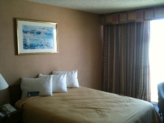 Monterey Bay Travelodge: Zimmer