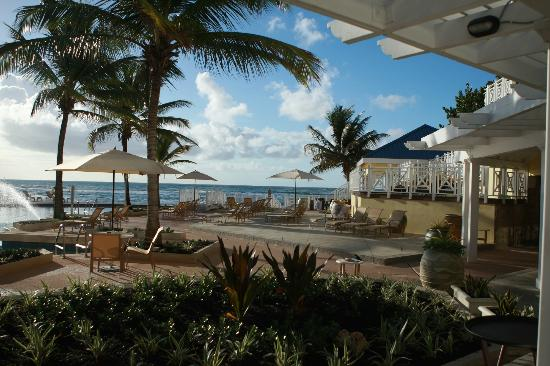 Magdalena Grand Beach & Golf Resort: View from dining area