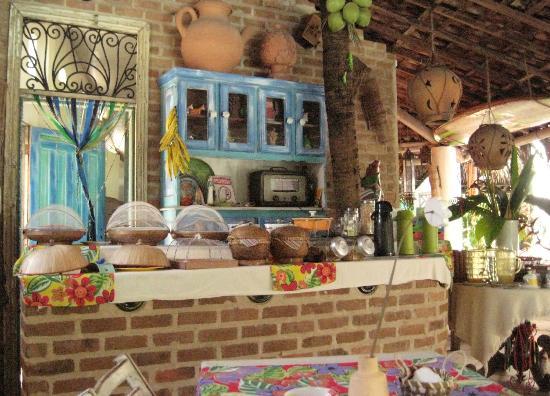 Pousada Porto Verde : Breakfast area