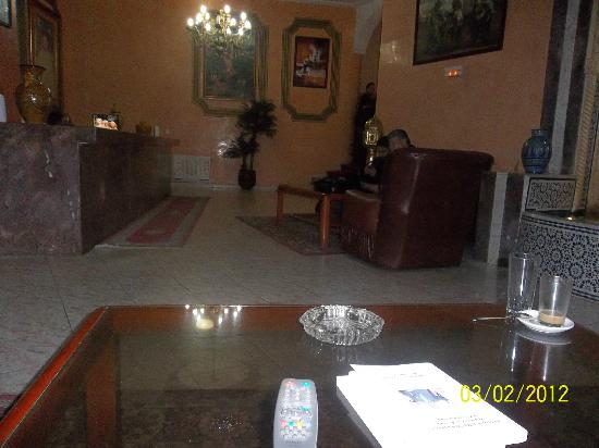 Larache, Maroko: Reception dell'hotel.