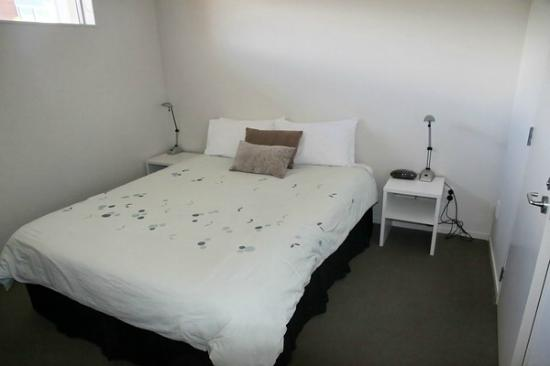 Beachside Resort Whitianga: Das Schlafzimmer
