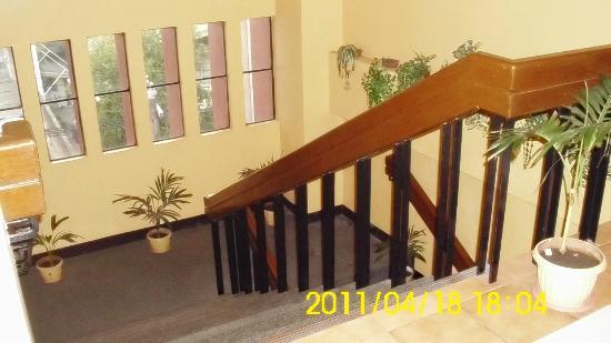 Hotel Soriente: Stairs