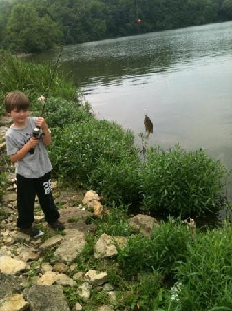 Lake Harriet: Fishing with Grandpa