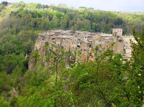 Mazzano Romano, Italia: calcata vecchia