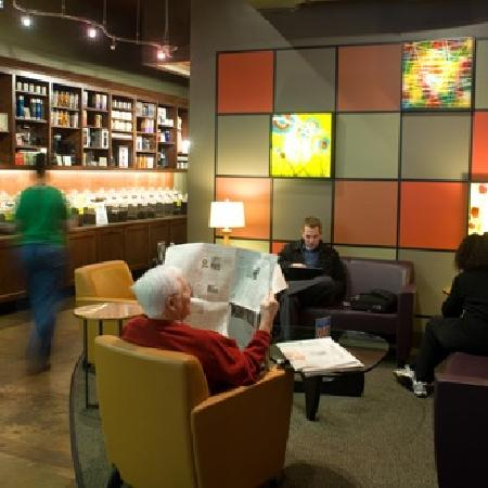 "JP's Coffee: The ""living room"" area of JP's"