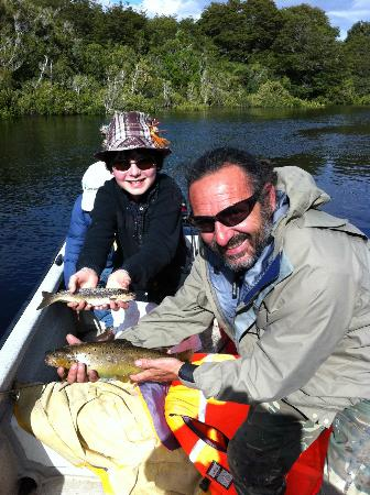Puerto Nativo Flyfishing Lodge: browns trouts