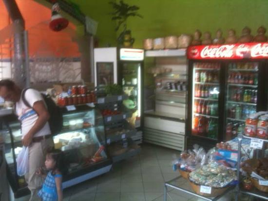 Renteria Tortilleria: Mini-mart food selection