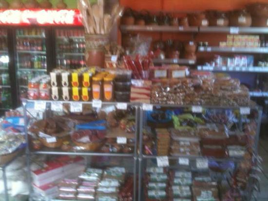 Renteria Tortilleria: Candy and kitchen stuff