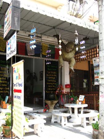 Funky Monkey Guesthouse & Tours: View of outside