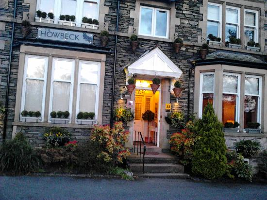 Front picture of the Howbeck Hotel