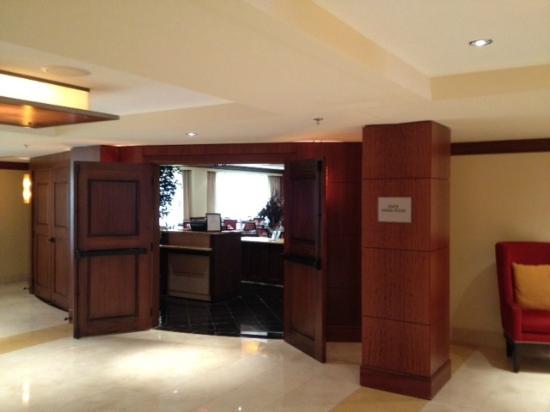 Atlanta Marriott Buckhead Hotel & Conference Center: breakfast in lenox dining