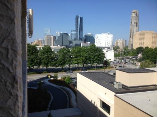 Atlanta Marriott Buckhead Hotel & Conference Center: view of lenox mall from balcony