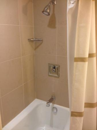 Atlanta Marriott Buckhead Hotel & Conference Center: shower/tub