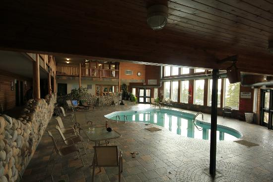 Pinewood Lodge: The salt-water pool