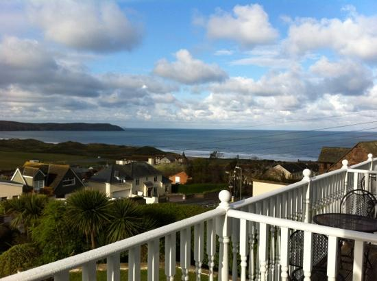 Downland House : view from room 3