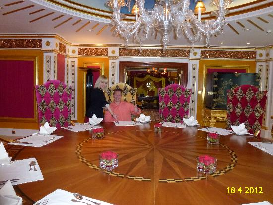 Royal Suite Of Burj Al Arab