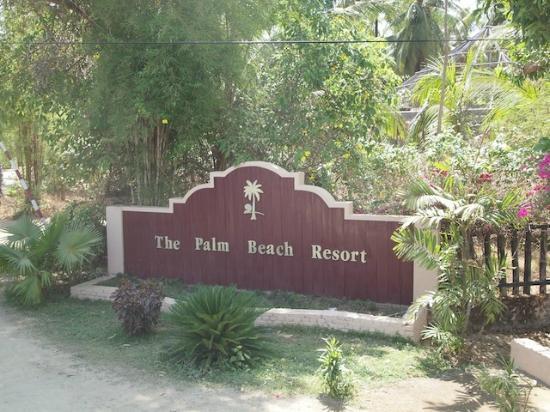 The Palm Beach Resort: hotel entry