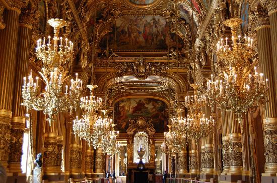 Paris Opera House Garnier Tours