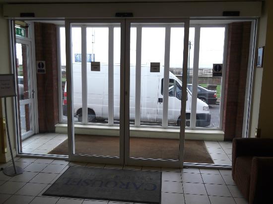 The Carousel Hotel: main door