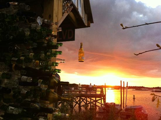 Cedar Key, FL: Sunset from the Tiki Bar