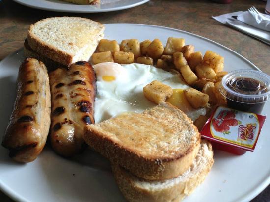 Grenadier Restaurant High Park: English style bangers