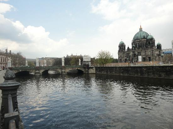 Museumsinsel: vista de fora da ilha