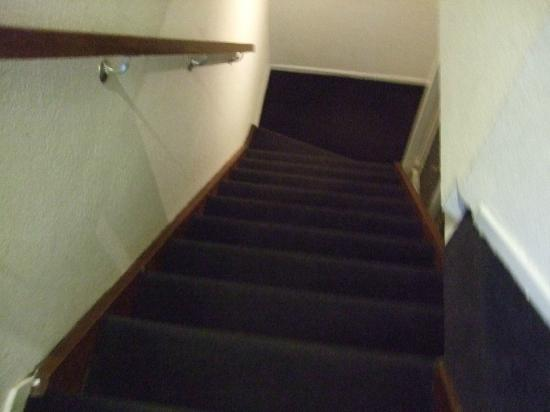 The Concert Hotel: Stairs to 4th floor