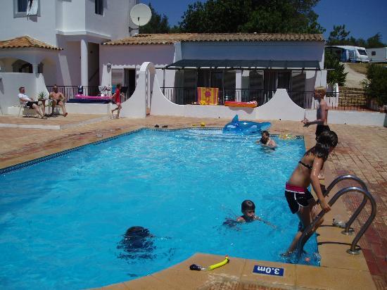 Poolside fun at Casa Rosa