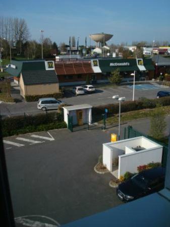 Première Classe Lisieux : View of McDonalds
