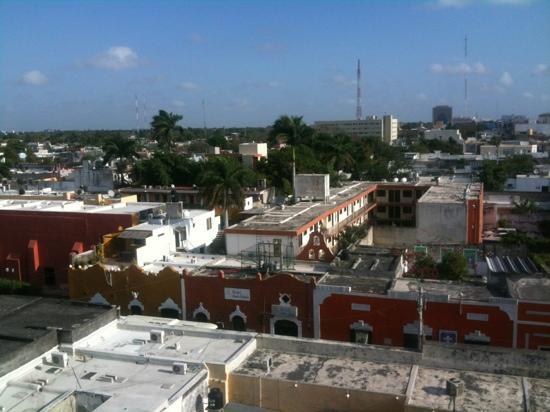 Best Western Maya Yucatan: Ausblick aus der fünften Etage