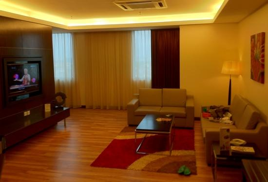 Hotel Grand Paragon: living room area