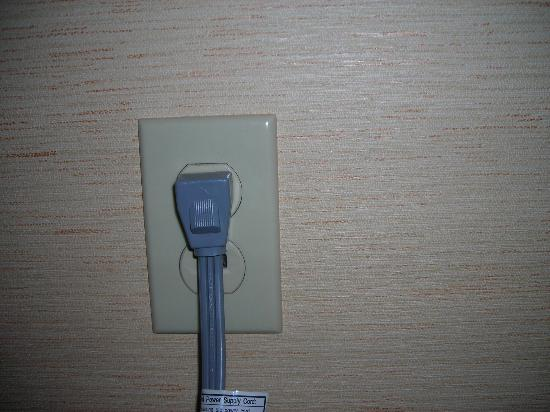 Fairfield Inn & Suites San Francisco Airport/Millbrae: Heavy Duty Cord