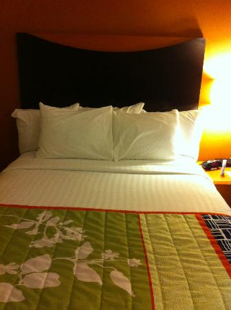 Fairfield Inn & Suites Harrisburg West: One of the 2 Queens Beds in the room