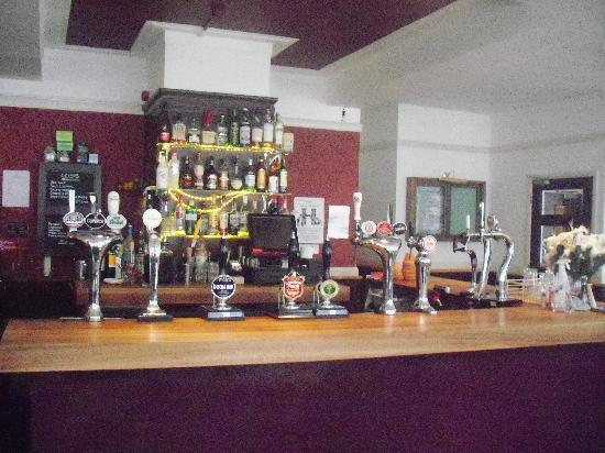 The Harrison Gastro Pub and Hotel: Great selection!! Try the Fruli!