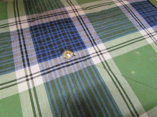 Campanile Creteil Centre: hole in the blanket