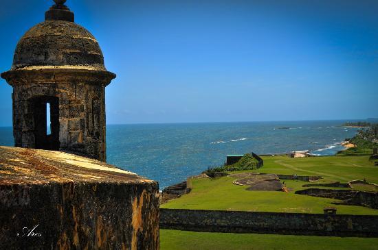 View from Castillo San Felipe Del Morro, Old San Juan