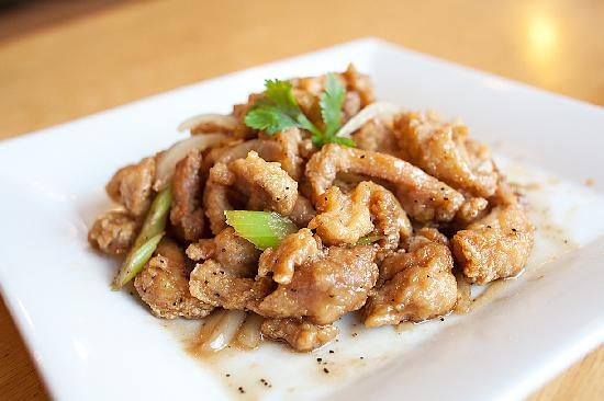 Asian Wings Cafe': Black Pepper Chicken