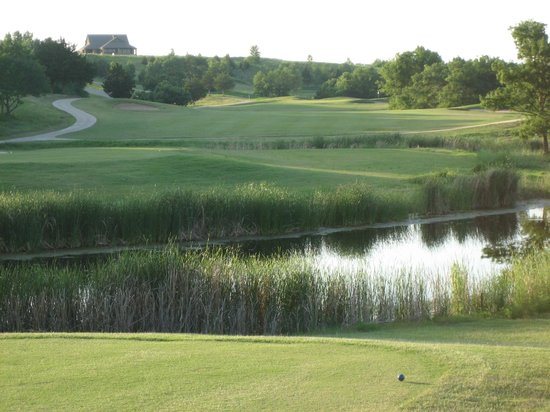 Kingston, OK: Chickasaw Pointe Colf Course - #9 tee