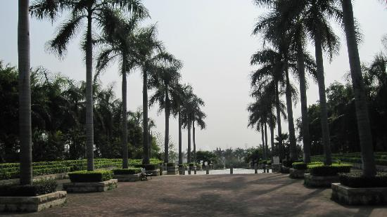 Green Lake Hot Spring Hotel: Grounds