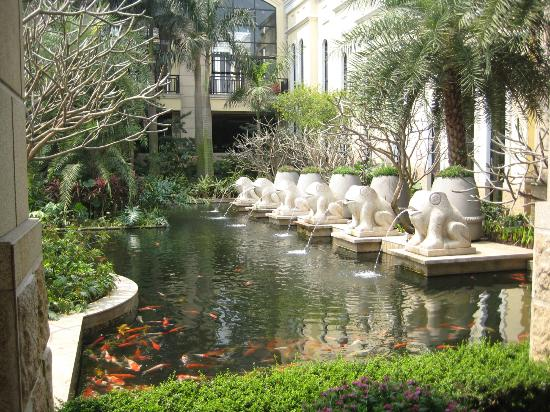 Green Lake Hot Spring Hotel: Pond