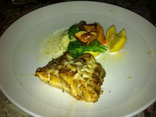 Graycliff Restaurant: филе grouper на гриле