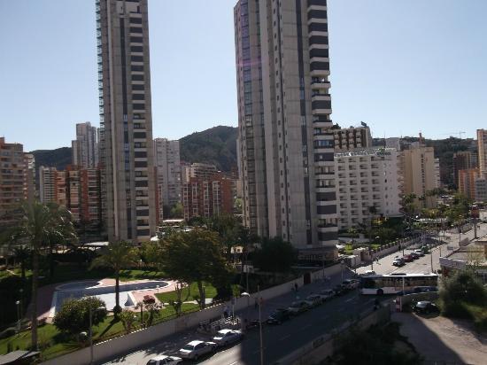 Hotel Helios Benidorm : view from balcony