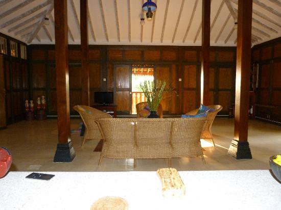 The Studio: Villa One's living area