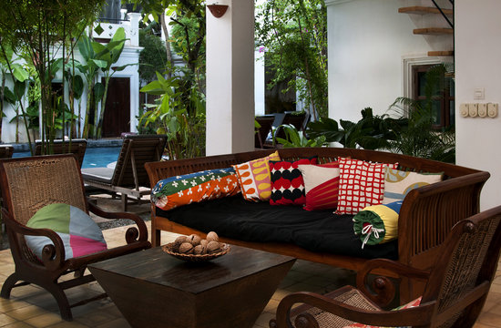 Rambutan Resort - Siem Reap: Lounge area