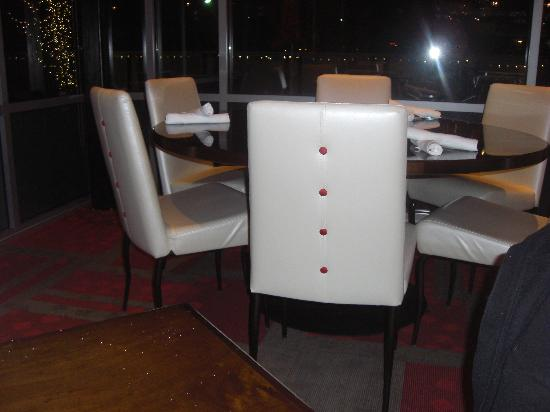 Lucy Restaurant: MY WIFE LOVED THE CHAIRS!!