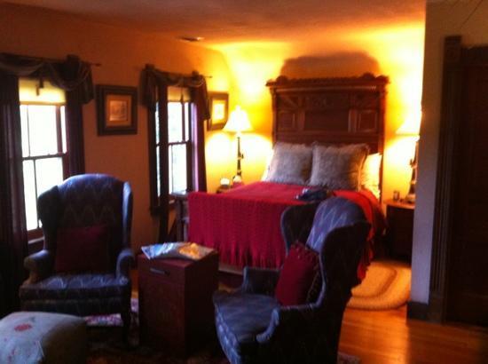 The Inn at Irish Hollow: Suite room at Irish Halliw