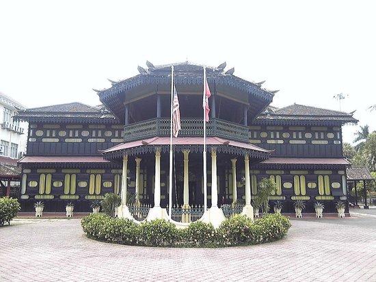 Kota Bharu, Malesia: 博物館の正面外観