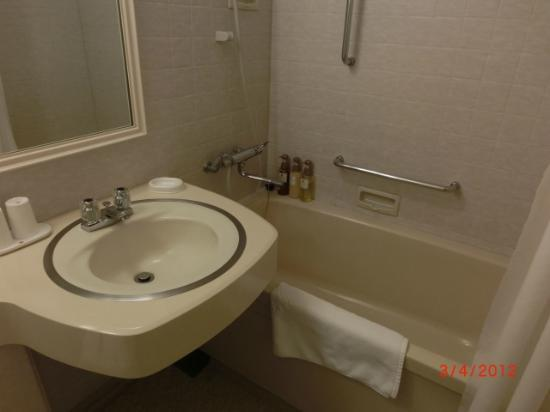 Kyoto Century Hotel: Bathroom/toilet