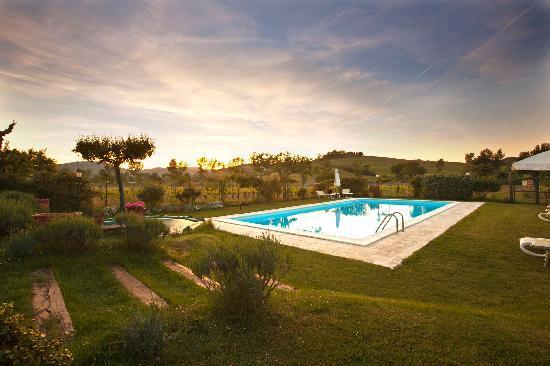 Farmhouse Il Fienile : La piscina